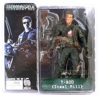 7 18cm NECA The Terminator 2 Action Figure T 800 T 800 Steel Mill PVC Figure