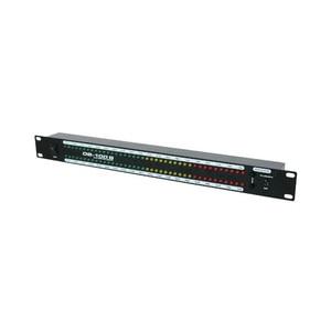 Image 3 - DB100 profesyonel sahne ev amplifikatör hoparlör çift 40 spektrum ses LED Stereo seviyesi göstergesi 57dB 0dB
