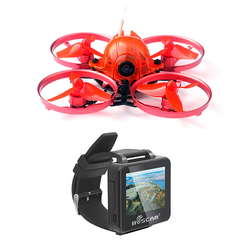 JMT Snapper7 BNF Whoop Brushless Racer Drone Tiny 75mm With FPV 2 Inch 5.8G 32CH HD Watch Frsky / Flysky Receiver RX jmt snapper7 brushless whoopi aircraft bnf micro 75mm fpv racer quadcopter 4in1 crazybee f3 fc flysky frsky rx 700tvl camera vtx