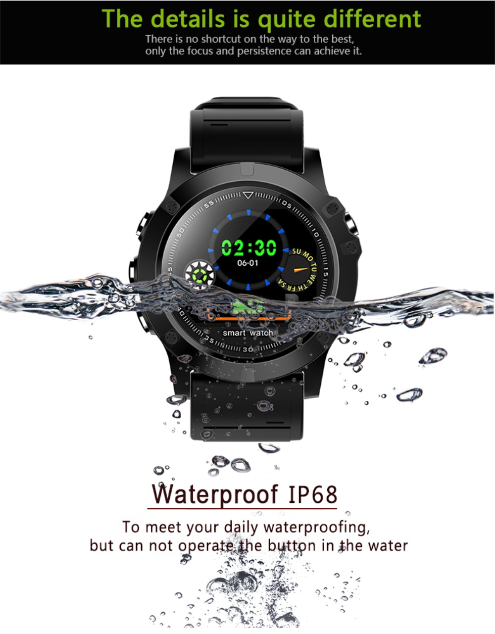 696 L11 Men Smart Bracelet Heart Rate Blood Pressure Fitness Tracker IP68 Waterproof Smart Watch for Android IOS smart phone 10