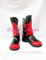 Hand Made Custom Made Magical Girl Lyrical Nanoha Vita Cosplay Shoes Boots For Halloween