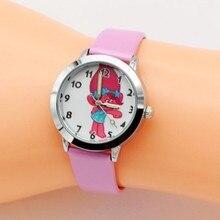 New Fashion Casual Quartz Wrist Watch Troll Watch Kids clock