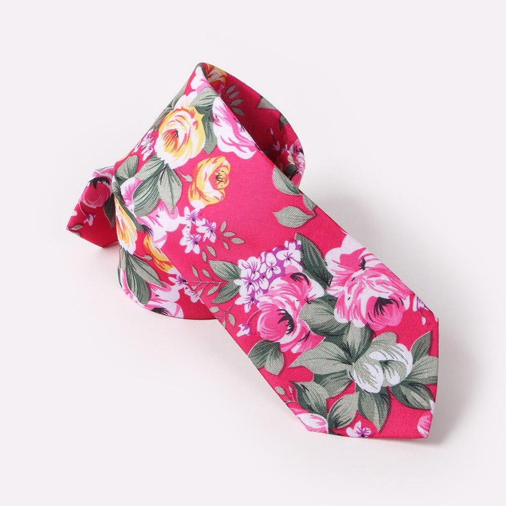 New Fashion Ties For Men Flora Print Mens Necktie Casual 6cm Slim Skinny Tie For Wedding Party Business Flowers Necktie Corbatas