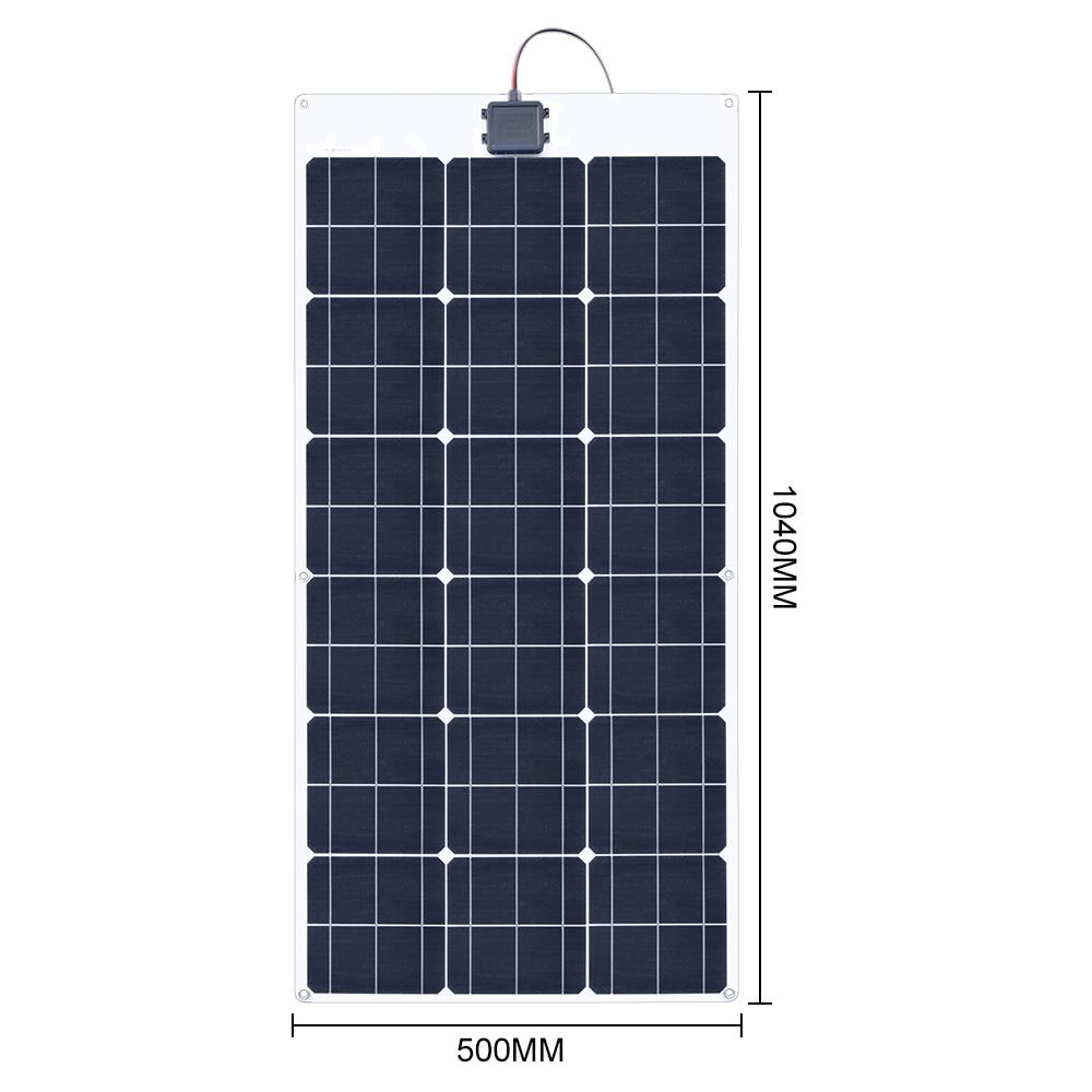 80W 18V Flexible solar panel 3
