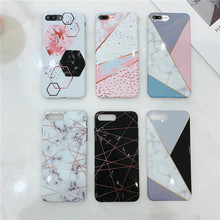 New Marble For Iphone 66S 6P78 8P X Xs Xr Xsmax Black And White Color Drop-Proof Phone Case