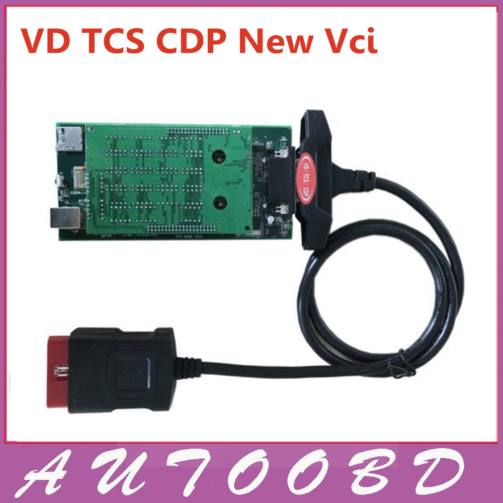 Top Quality! Car Auto Interface Scanner VD TCS CDP Pro OBD2 II Without Bluetooth Diagnostic Tool Compatible Car Truck -3PCS/Lot  with bluetooth function super tcs cdp pro plus keygen led 3 in1 sn 100251 obdii obd obd2 scanner diagnostic interface cdp pro