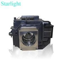 หลอดไฟโคมไฟโปรเจคเตอร์ELPLP58สำหรับEpson EB-S9 EB-S92 EB-W10 EB-W9 EB-X10 EB-X9 EB-X92 EB-S10 EX3200 EX5200 EX7200