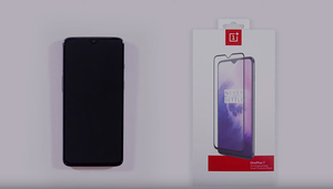 Image 4 - Original OnePlus 7 Glass 3D Full Cover Tempered Glass Screen Pprotector For One Plus 6T oneplus 7 Full Coverage Protective Film