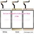 Tp para c106 letv leeco dentro cool1 coolpad legal 1 dual Touch Screen Painel de Digitador de Vidro Sem LCD Substituir Livre transporte + Ferramentas