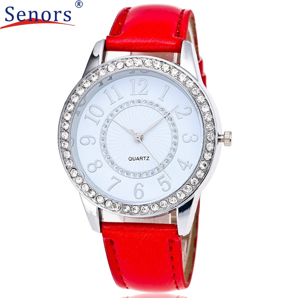 dropshipping Fashion Digital Pattern Leather Band Analog Quartz Vogue Wrist Watches hot  new design Dec12  2016 send in 2 days new fashion women retro digital dial leather band quartz analog wrist watch watches wholesale 7055
