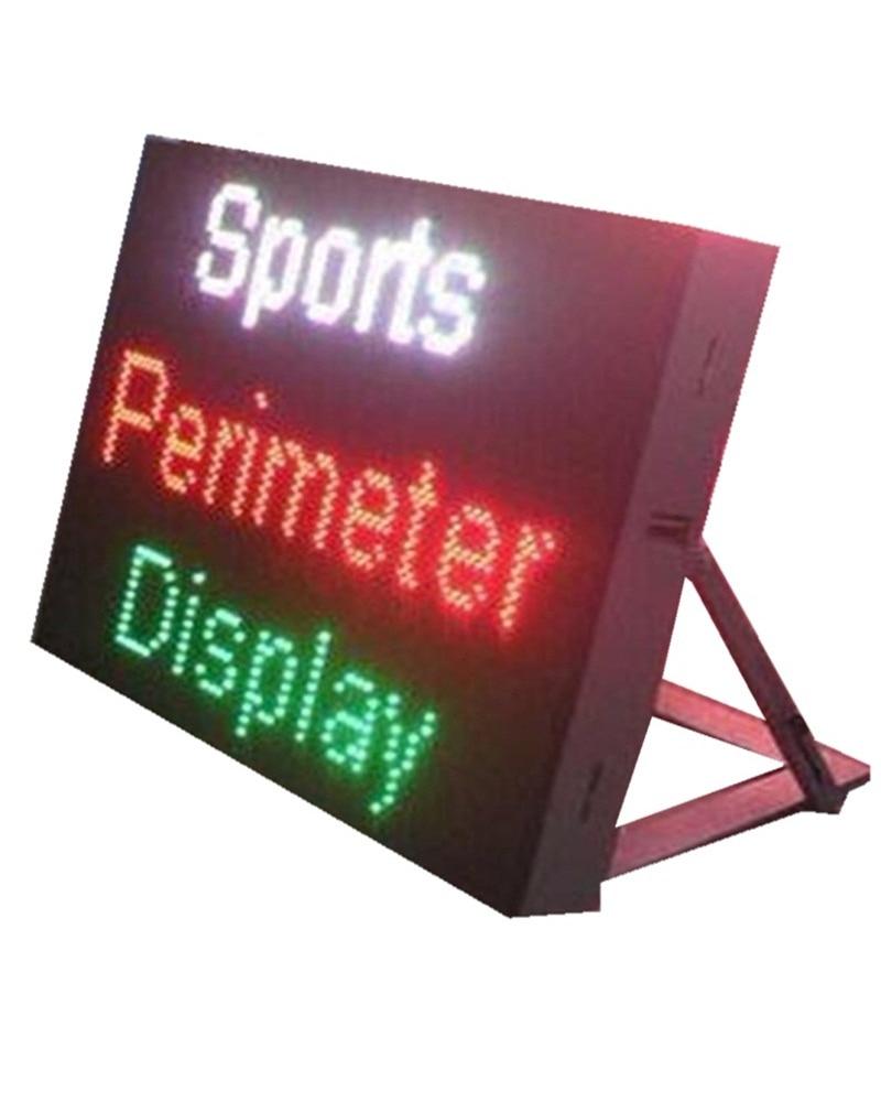 With Bracket Can Customize DIP 346/570 P10 P16 P20 Outdoor Football /basketball /Court Screen LED Stadium Perimeter LED Display