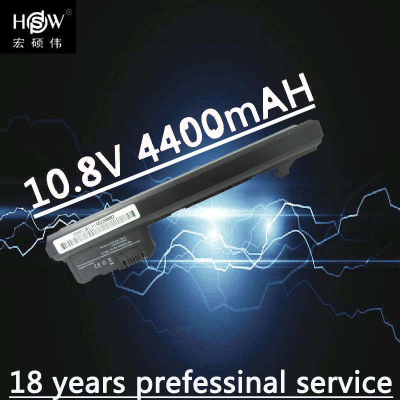 HSW Laptop battery for Hp Mini 102 CQ10 100 110 Series 1101 110 1000 110c 1000 CQ10 100 CTO 110 XP Edition 537626 001 batteria in Laptop Batteries from Computer Office