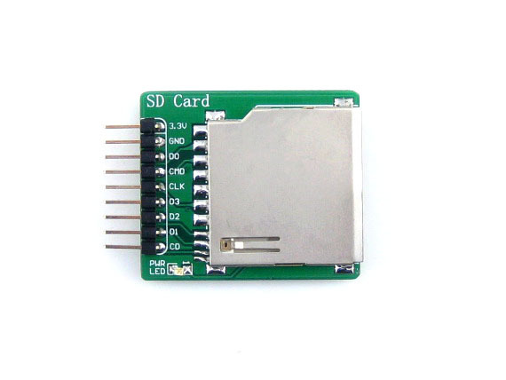 SD Storage Board Supports SDIO And SPI Interfaces SD And Micro SD Cards Dual-use Board