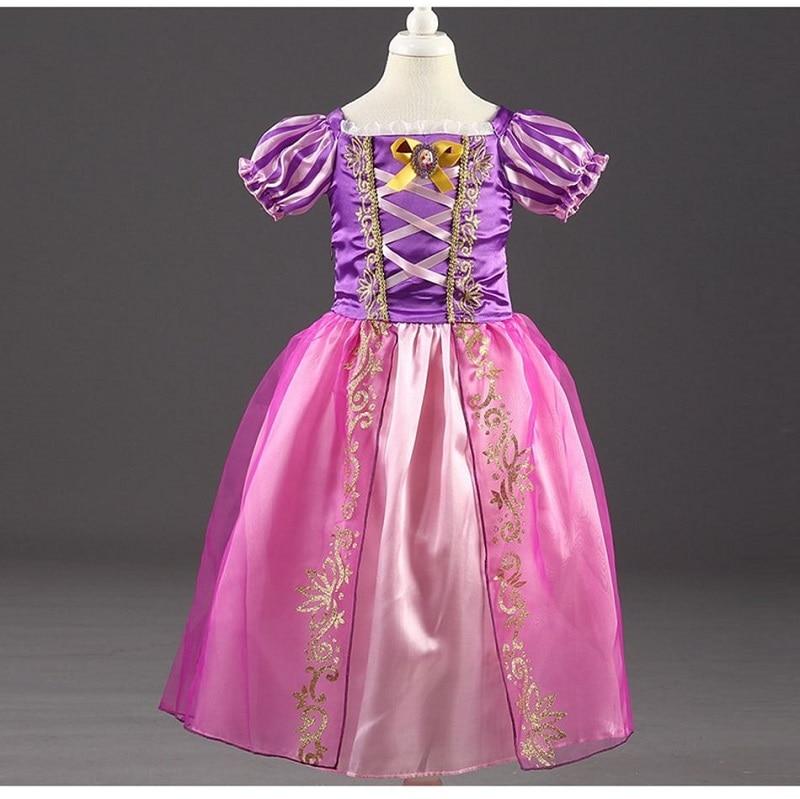 HTB19QczJ7KWBuNjy1zjq6AOypXa7 Send crown Baby Girls Dress Christmas Anna Elsa Cosplay Costume Summer Girl Princess Dress for Birthday Party Vestidos Menina