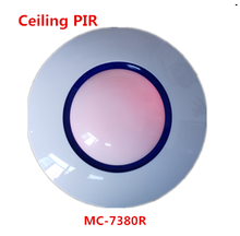 Wireless ceiling PIR Sensor intrusion detector with pet immunity Function Motion detector