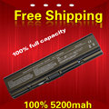 5200 mah laptop battery PA3534U-1BAS For TOSHIBA A300-1LT Satellite A215 Series Dynabook AX/52  EXW/55HW A215 Series