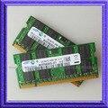 4 GB 2x2 GB PC2-6400 DDR2 800 Mhz SO-DIMM de 200 pino Laptop DDR2 2x2 gb Notebook memória RAM Frete grátis