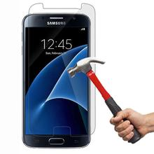 hot deal buy 2pcs for glass samsung galaxy s7 screen protector tempered glass for samsung galaxy s7 glass g9300 phone film for samsung s7