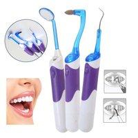 3PCS Oral Clean Tools LED Dental Care Tooth Stain Eraser Plaque Remover Oral Hygiene Dental Kit