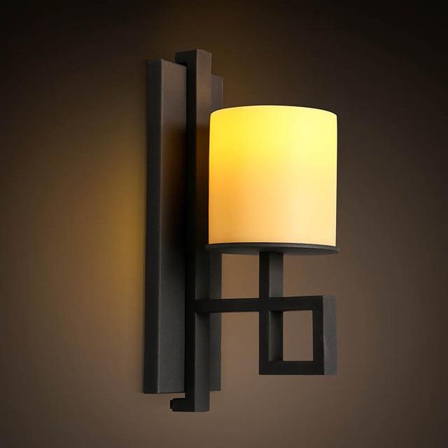 € 116.25 |Moderne bref personnellement Loft Vintage Ameican marbre  chandelier mur LED applique lampe salle de bain miroir décor à la maison  luminaire ...