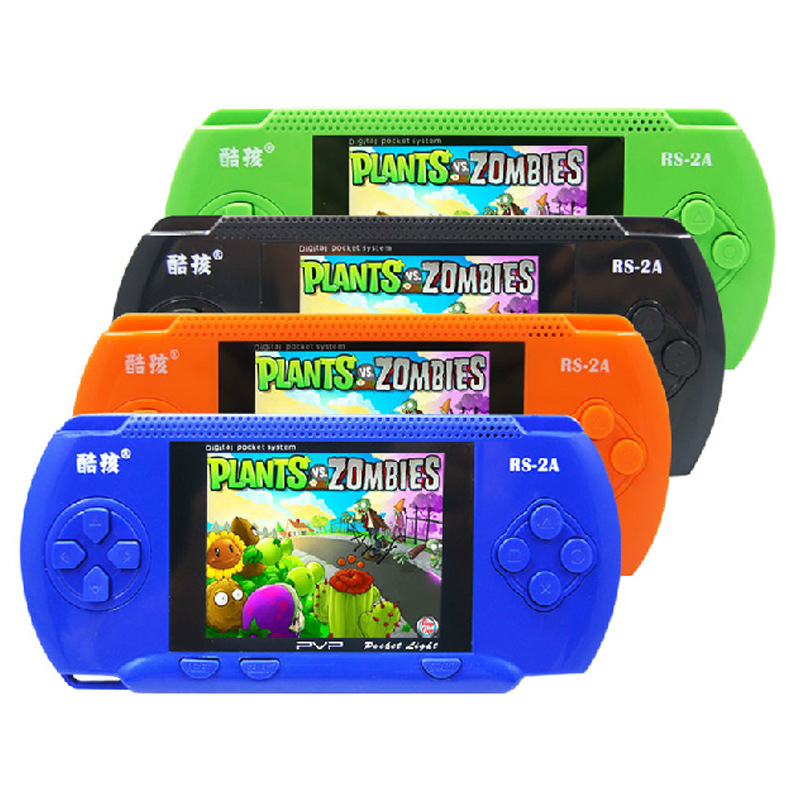 Cdragon RS-2A handheld game toys children color 3.2 inch big screen 300 games can be doubles