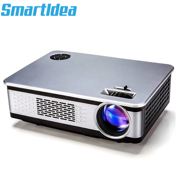 SmartIdea 3800lumens 3D HD LED Home theater Projector Digital Cinema proyector support full hd 1920 x1080 Video game LCD Beamer Проектор