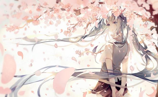 A4 A3 A2 A1 A0  Hatsune Miku Japanese Cartoon Anime T030