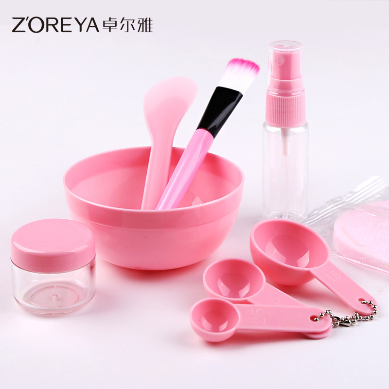 Craftsman Mask Tool Component 9 Medium Mask 1Bottling 1 Bowl Brush Component Mask Bowl Suit Diy Mask Tool Beginners General Suit