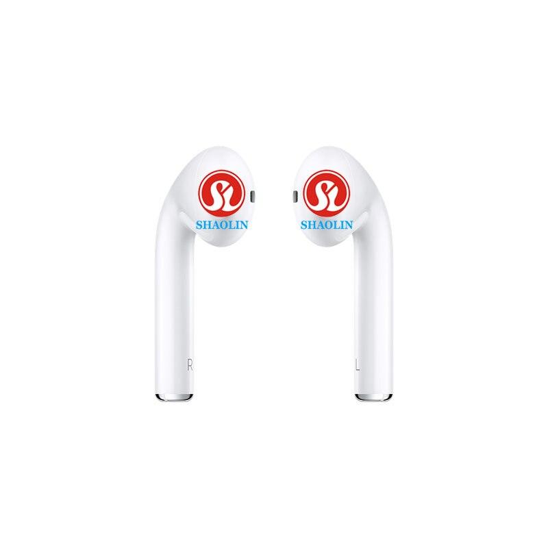 Oreillette Bluetooth mains libres écouteurs stéréo avec micro Double oreillette pour iphone 8 Samsung xiaomi téléphone Android Airdots
