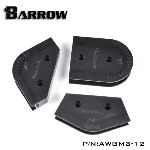 OD 12mm Barrow Acrylic PMMA hard pipe bending mould kit for hard