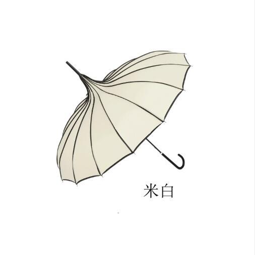Ev ve Bahçe'ten Şemsiye'de 20 adet pagoda şemsiye Düğün Şemsiye Korumak Her Iki Yağmur Ve Güneş'da  Grup 3