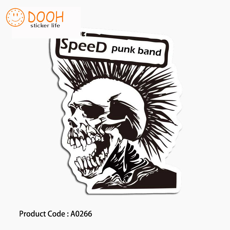A0266 sticker skull punk can tororo bike hobby suitcase laptop guitar luggage DIY skateboard bicycle toy HZ 30A0266 sticker skull punk can tororo bike hobby suitcase laptop guitar luggage DIY skateboard bicycle toy HZ 30