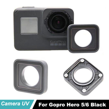 Original Hero5 6 Black Len Cap Ring For Gopro Replacement UV Lens Repair Case Cover Frame Hero 5 Camera
