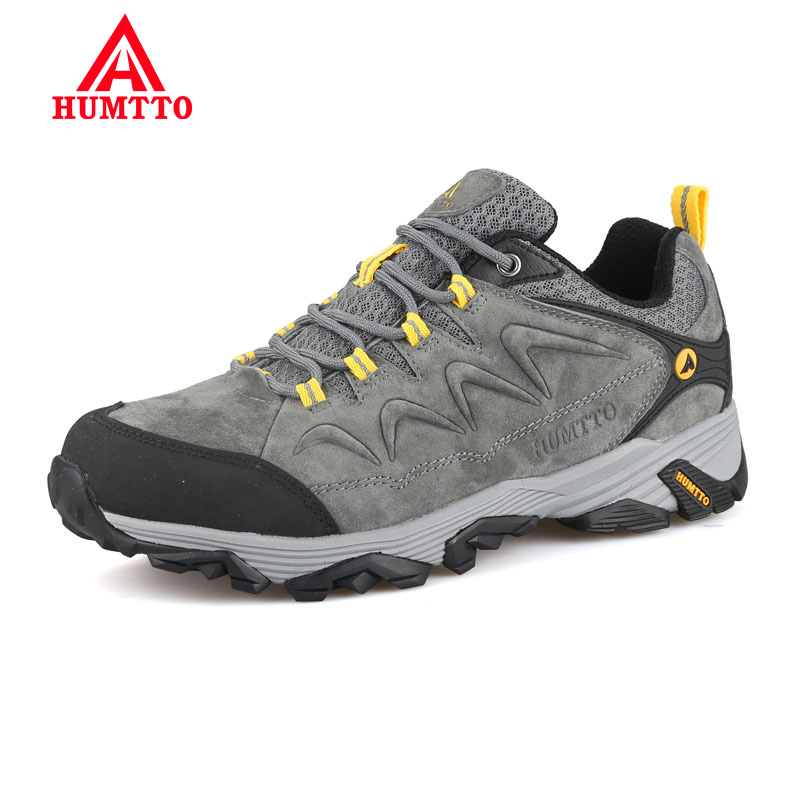 New Arrival Hiking Shoes Lightwei Winter Genuine Leather Outdoor Trekking Boots Lace up Climbing Mens Sneakers