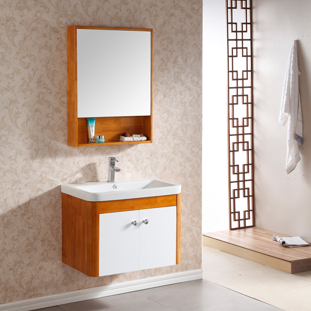 Small Apartment Bathroom Cabinet Vanity Washbasin Cabinet