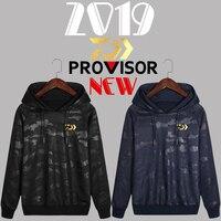 2019 Autumn Fishing Hooded Jacket Long Sleeve Daiwa Fishing Sweater Clothing Anti UV Sun Daiwa Hoodie Outdoor Sports Clothes