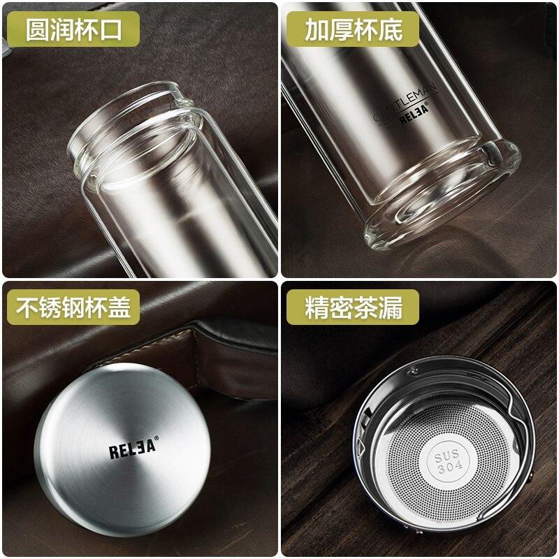 φορητό κρύσταλλο φιάλη νερό Τσάι Infuser - Κουζίνα, τραπεζαρία και μπαρ - Φωτογραφία 5