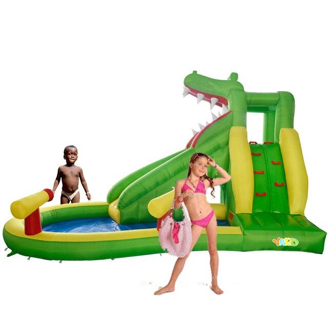YARD Bounce Дом Воды Надувные Слайд Батут-Парк для Детей Специальное Предложение для Горячей Зоны