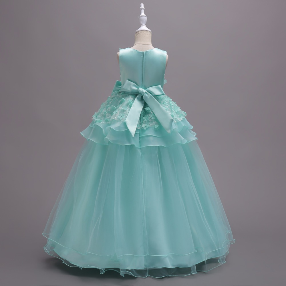 Flower Girls Dresses For Girls Clothes Princess Wedding Dress ...
