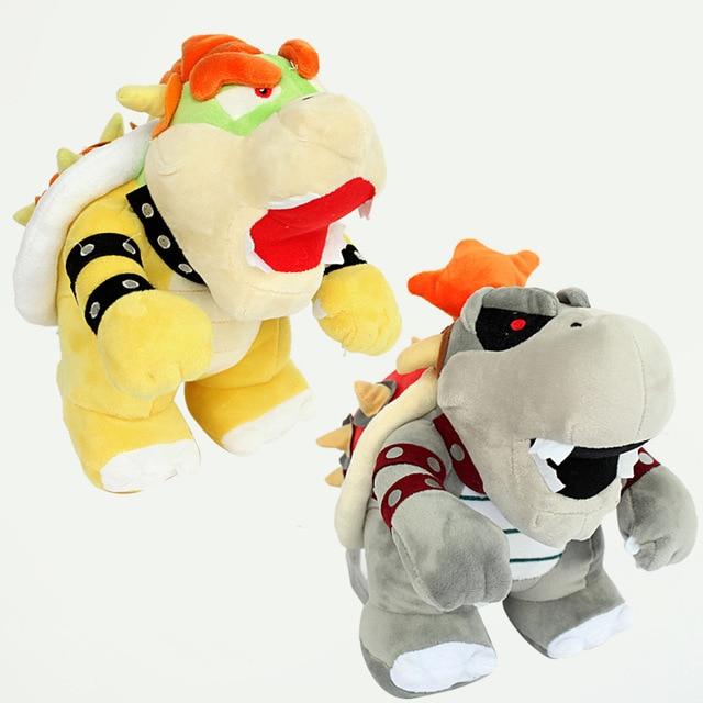 35CM New Arrive Cartoon Super Mario Kuba Dragon Plush Dolls Soft Plush Mario Luigi Mario Bros Plush Toys for Kids Gift PP Cotton