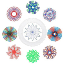 Drawing Toys Learning & Education Spirograph Design set Geometric  Kids Spiral Art Interlocking Gears & Wheels Creative Painting