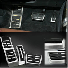 Автомобиль Стайлинг из нержавеющей стали автомобили педаль акселератора и педаль отдыха для Porsche macan 3 шт./лот