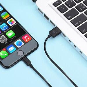 Image 5 - 10 pièces/lot câble Usb pour iPhone 8, USAMS 2A câble de chargeur plus rapide pour iPhone 7 Date câble lumineux usb câble support ios 11 10 9