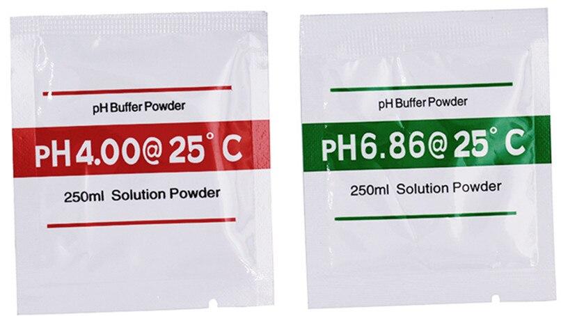 Ph Meter 4 Stücke Ph Puffer Pulver Für Ph Test Meter Messen Kalibrierung Lösung 1 Stücke 4,00 Und 1 Stücke 6,86 Kalibrierung Punkt