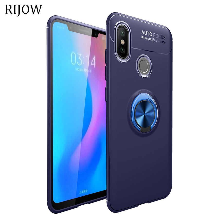Invisible Ring for Xiaomi Redmi Note 7 Case Redmi Note 6 5 Pro Cover Ring  Bracket Phone Xiomi Redmi S2 6A 7 Pro 6 Cases Mi 9 SE