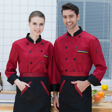 Men Short/Long Sleeves Breathable Mesh Patchwork Chef Food Service Cuisine Cook Workwear T-shirt Kitchen Work Uniforms Aprons