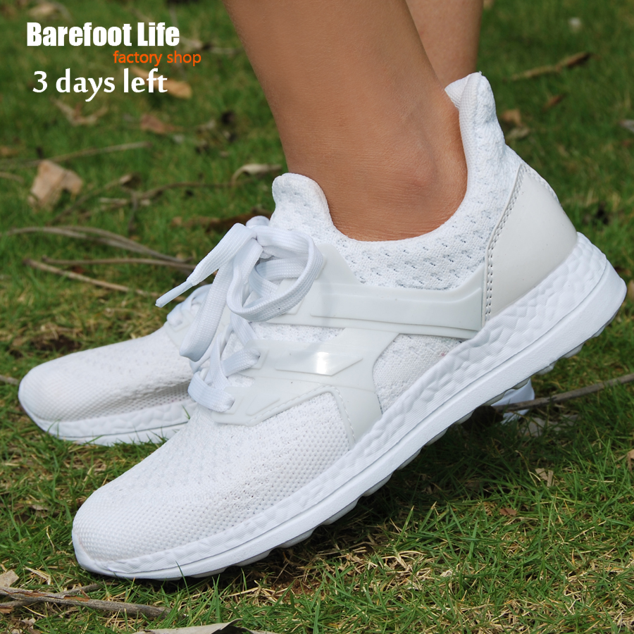 Босиком жизни белые спортивные Бег мужчин и женщин, прогулочная, дышащая Спортивная удобная обувь кроссовки, Zapatos, schuhes