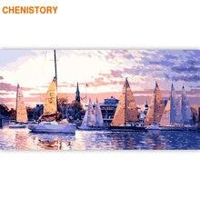 Chenistory 60x120 см Парусная рама для пейзажа diy живопись