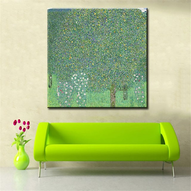 Original wall picture gustav klimt The Tree of Life wall painting for home decor oil painting wall art paint canvas No Framed