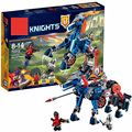 2016 New BELA Building Blocks 70312 Lance's Mecha Horse Set Knights Figures Bricks Toys Compatible with LEPIN Nexus Knights